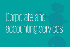 Corporate and accounting services