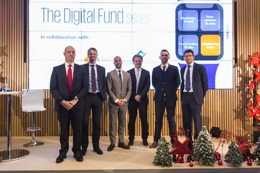 FundsDLT picture taken at the conference