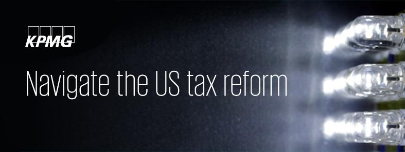 Navigate the US tax reform