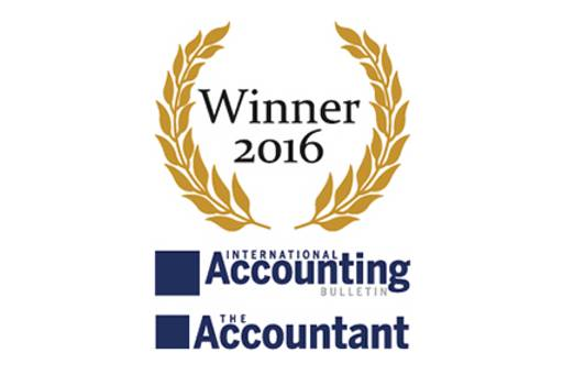 2016 The Accountant & International Accounting Bulletin Awards