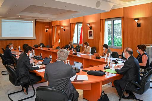 The C.A.R.E. commission in session © Direction de la Communication