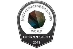 KPMG Employeur Reconnu : Award Universum World Most Attracive Employers 2018