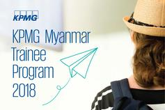 KPMG Myanmar Trainee Program 2018