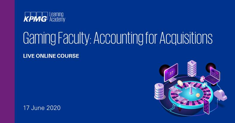 Gaming Faculty: Accounting for Acquisitions