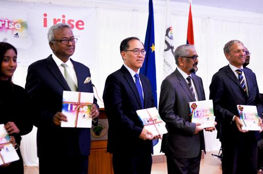 "Launch of the book ""i rise"""