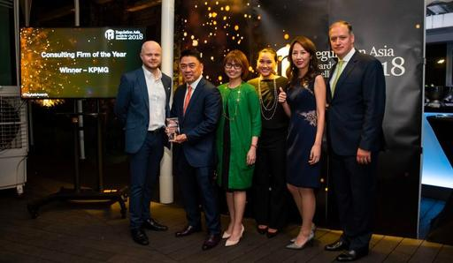 KPMG named consulting firm of the year at Regulation Asia awards