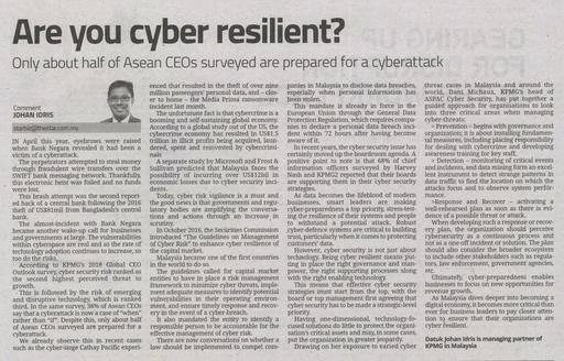 Are you cyber resilient?