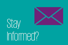 Stay informed by email?