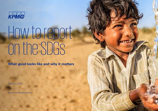 How to report on the SDGs
