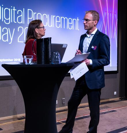 KPMG og Telenor på Digital Procurement Day 2019
