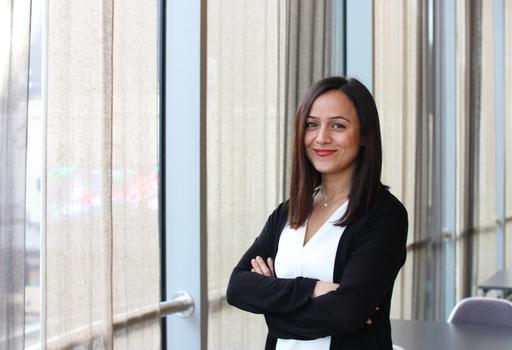 Intelligence Analyst Maral Mirshahi.