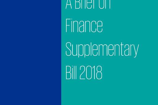 A Brief on Finance Supplementary Bill 2018