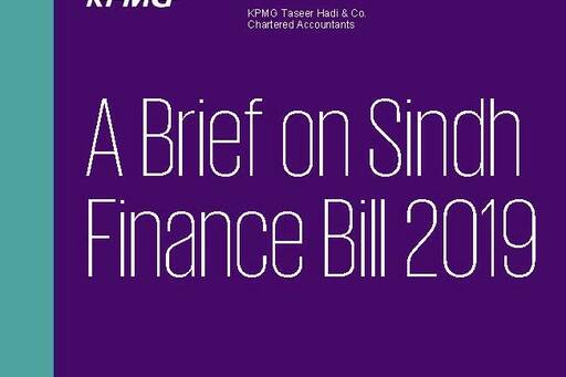 Sindh Finance Bill 2019