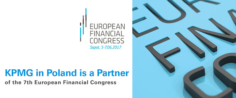 KPMG in Poland is a partner of the seventh edition of the European Financial Congress