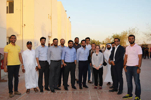 KPMG staff donate Iftar boxes to 800 labor camp workers