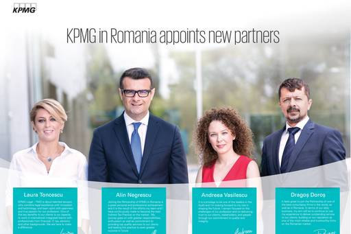 KPMG in Romania appoints new partners