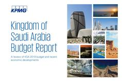Kingdom of Saudi Arabia Budget Report banner