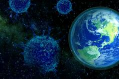 Earth virus banner