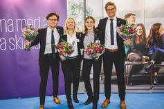 Svenska vinnarna av KPMG International Case Competition 2018