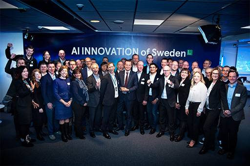KPMG invigning AI Innovation of Sweden