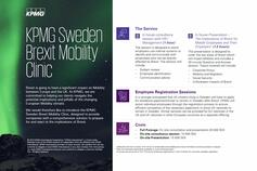 KPMG Sweden Brexit Mobility Clinic
