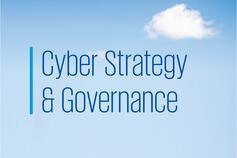 Cyber Strategy & Governance