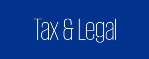 Tax and Legal