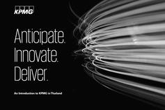 Anticipate. Innovate. Deliver. - KPMG in Thailand Brochure