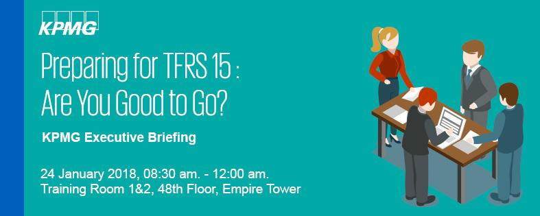 KPMG Executive Briefing: Preparing for TFRS 15