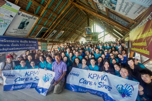 KPMG in Thailand unite to promote sustainability and give back to society