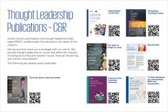 Global Thought Leadership Pack - November 2019