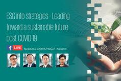 ESG into strategies - Leading toward a sustainable future post COVID-19