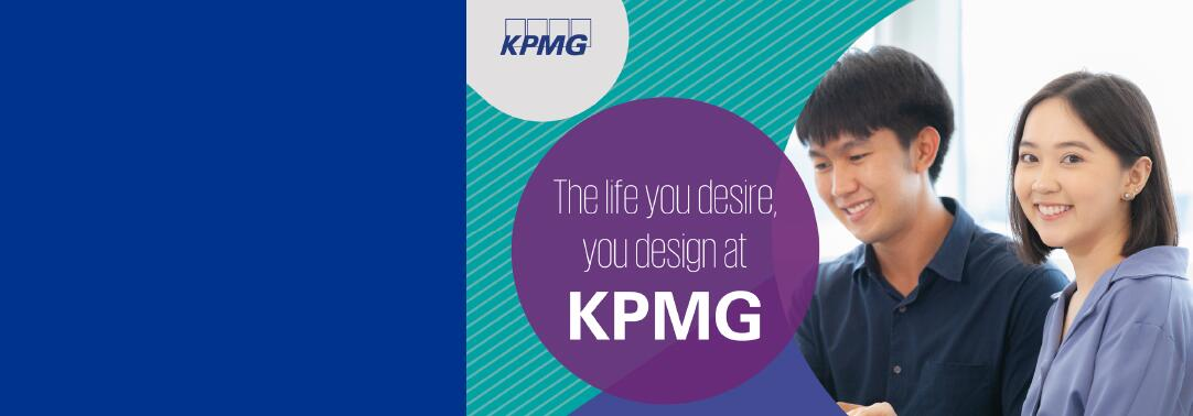 The life you desire, you design at KPMG.