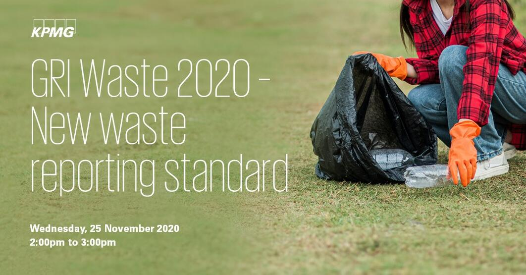 GRI Waste 2020 – New waste reporting standard