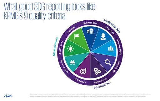 what good SDG reporting looks like