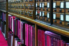 Business needs to play its part to improve UK literacy - image of a reference library