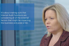 Katie Clinton - video the future of internal audit