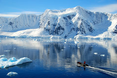 Making Tax Digital and the impact on mobility functions - man on boat in glaciers
