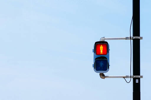 Why banks are failing the financial reporting test - red stop traffic light