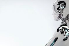 Acceleration Automation: Plan your faster, smoother journey - photo of a silver robot