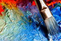 M&A Matters - paintbrush on watercolour painting