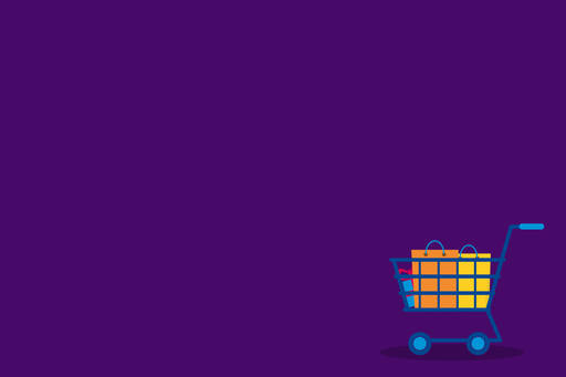 KPMG Living Wage Research 2017 - shopping cart illustration