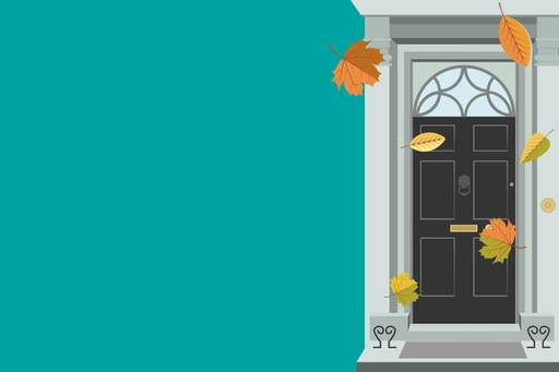 What did the budget hold for privately owned businesses? - illustration of front door
