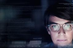 Risk in Reality - woman looking at computer screen