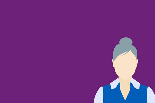 Living Pension: achieving financial inclusion, Old lady with grey hair