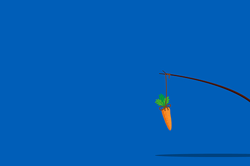 carrot-on-a-stick