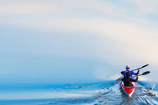 The Brexit Column: Keep calm - but still carry on - two people kayaking