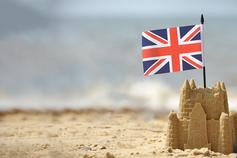 The Brexit Column: A sea change towards No Deal? - UK flag in a sandcastle