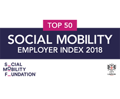 Social Mobility Employer Index 2018: Top 50