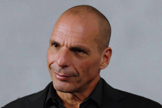 CxO Evolution: Yanis Varoufakis ex-Finance Minister for Greece headshot photograph